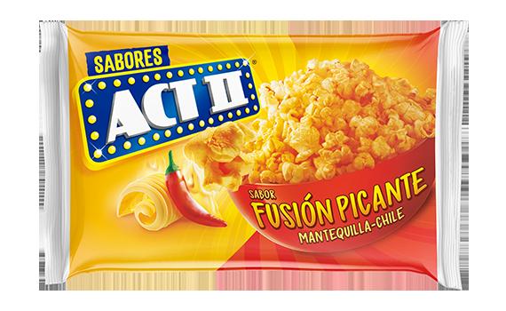 Palomitas de maíz fusión picante