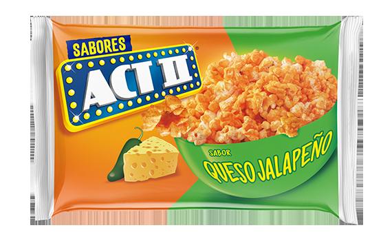 Palomitas de microondas queso jalapeño