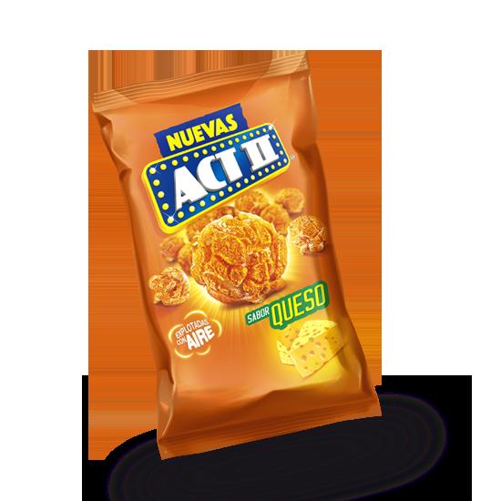 Palomitas en bolsa sabor queso