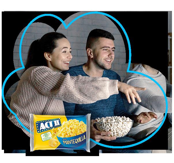 ACT II - palomitas de microondas para compartir